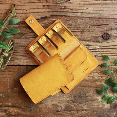 Coin Wallet Ⅱ / YELLOW コインキャッチャー ( GOLD ) *小さい財布*