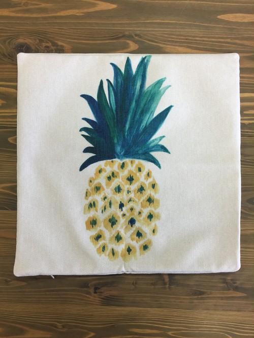 クッションカバー パイナップル柄