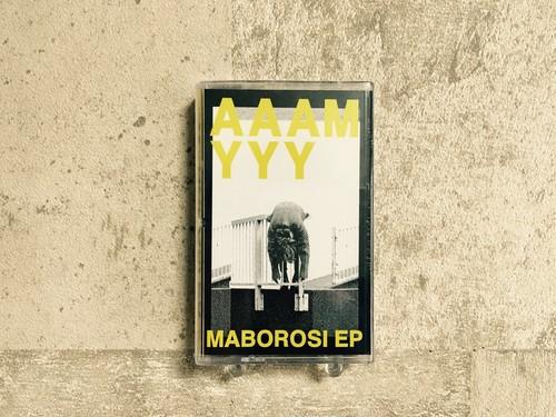 AAAMYYY / MABOROSI EP (テープ&DLコード、缶バッヂ付き)