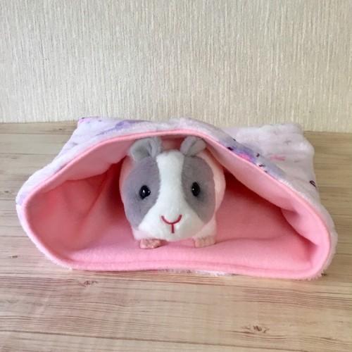 もるちゃんのふわふわ寝袋