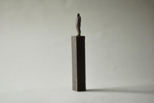 (079)wood figure-mini台付_048