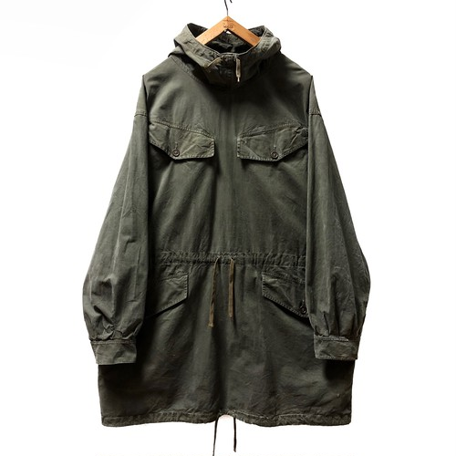 60's FRENCH ARMY SMOCK PARKA