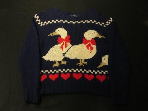 80's Woolrich Wool Knit