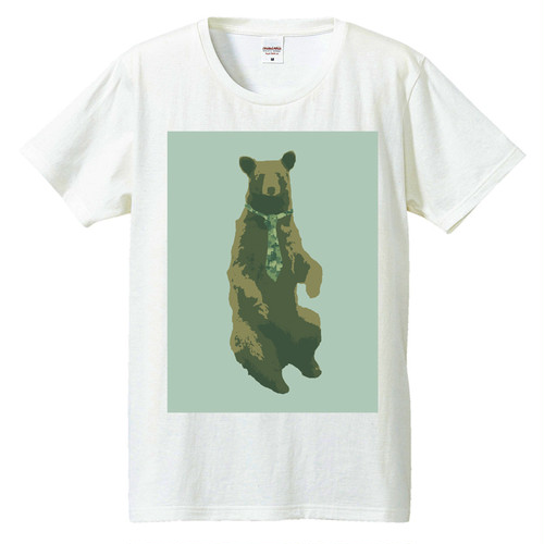 [Tシャツ] Bear and tie