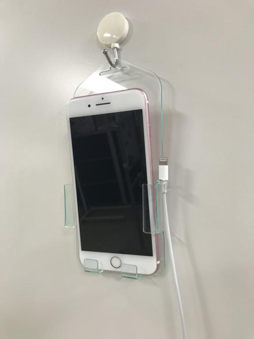 iPhone8用壁掛けホルダー(特許取得製品)iPhone7,iPhone6でも使えます