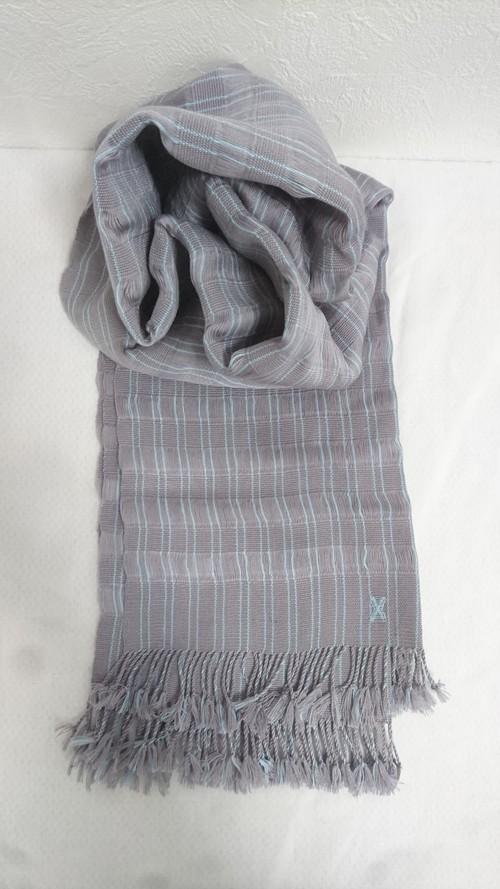 幸せの国ブータンから Oyster Shine (オイスター シャイン) ブータン手織りスカーフ ANA by KARMA
