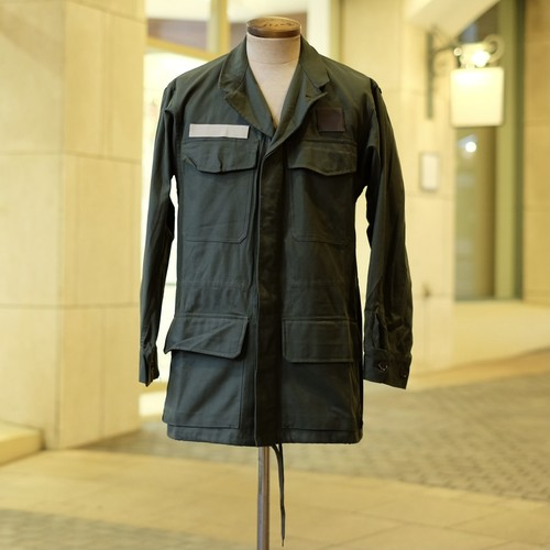 OLD FRENCH AIR FORCE FIELD COMBAT JACKET DEAD STOCK - 1