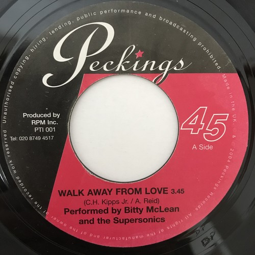 Bitty McLean & The Supersonics - Walk Away From Love【7-10912】