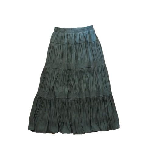 21506  ティアード・スカート/カーキ