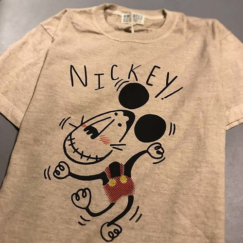 NICKEY!  PIGMENT T-SHIRTS