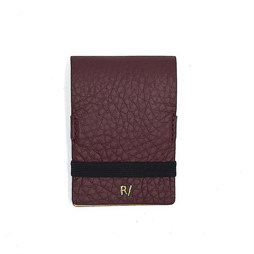 CARD CASE カードケース ボルドー