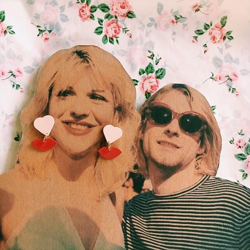HEARTY LIP PIERCE for Courtney Love