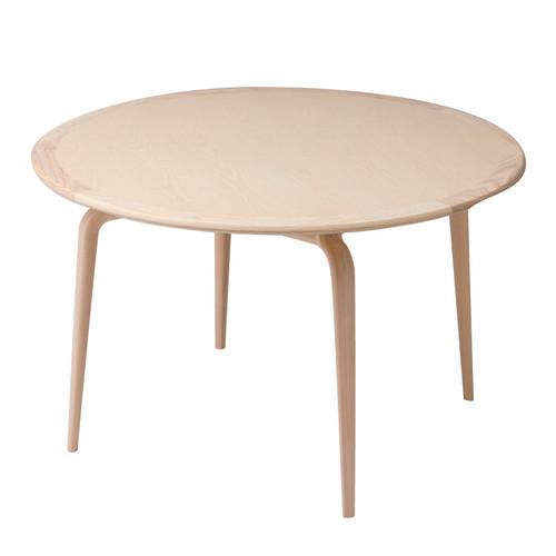 Capeダイニングテーブル ウォールナット材 Ø120×H73.5cm