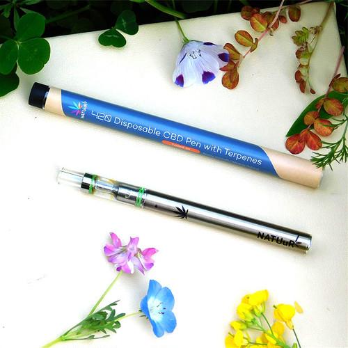 テルペン配合 CBD4.2%リキッド入りペン/ Tangie OG/ 使い切りタイプ