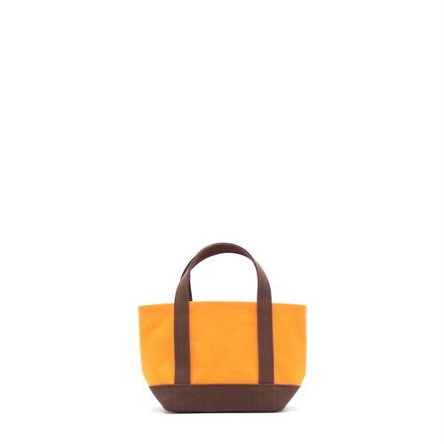 daisyhillトートバッグ【S】オレンジ×チョコ