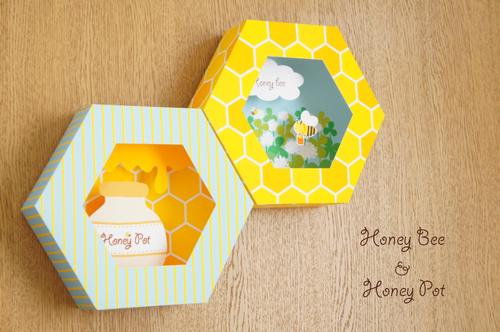 ミツバチとハチミツの六角関係