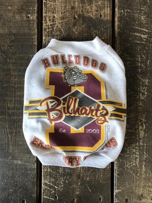 vintage BULLDOG sweat French Bulldog L