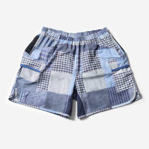 Mountain Martial Arts / MMA 7pkt Running Pants Shorty 《Patchwork》
