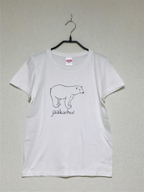 しろくまのTシャツ