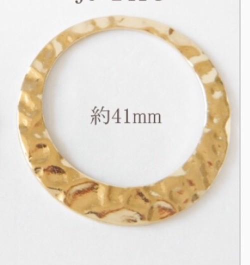 デザインリングパーツ  ゴールド