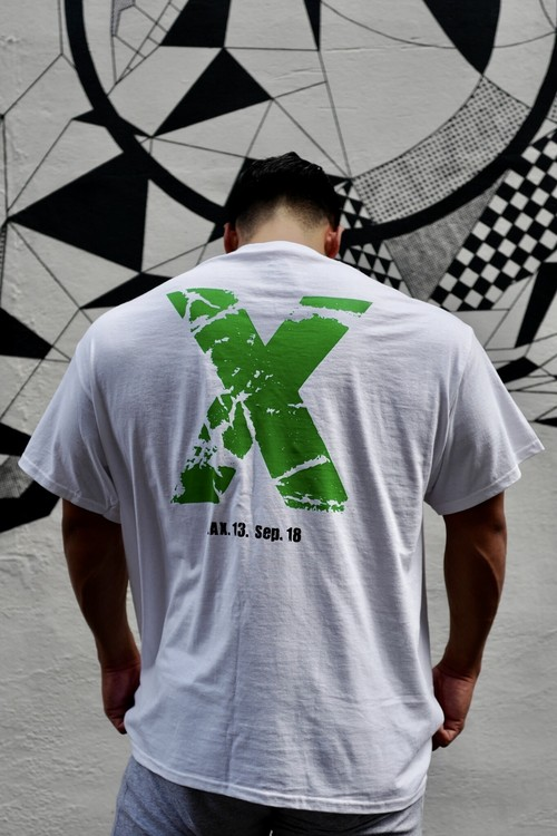 "Memorial T-shirts ""X"" WH"
