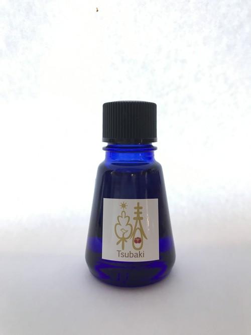 数量限定商品 プレミアムコールドプレス(生搾り)つばき油ブルーボトル