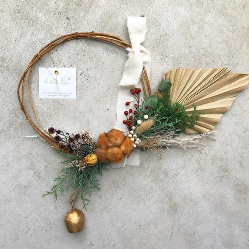 "hiba ""Christmas & New Year decoration wreath"""