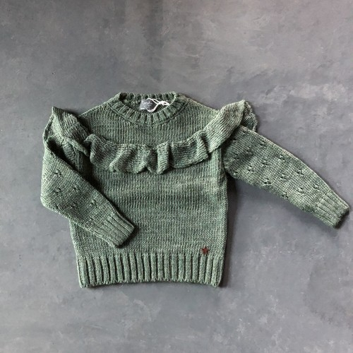 tocoto vintage knit DARK GREEN
