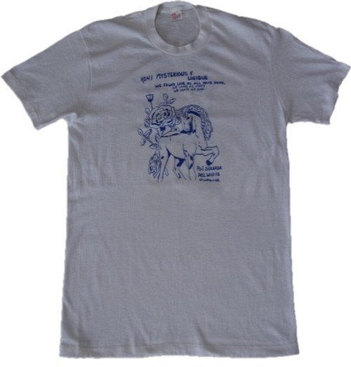 80's JC Penney Unicorn Print T-Shirts(白)
