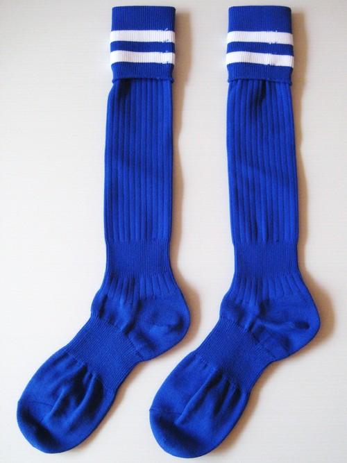2 LINES SOCKS BLUE