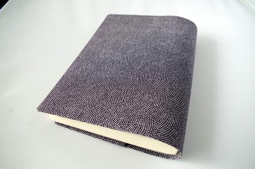 文庫本セパレート式ブックカバー(江戸小紋)hb050