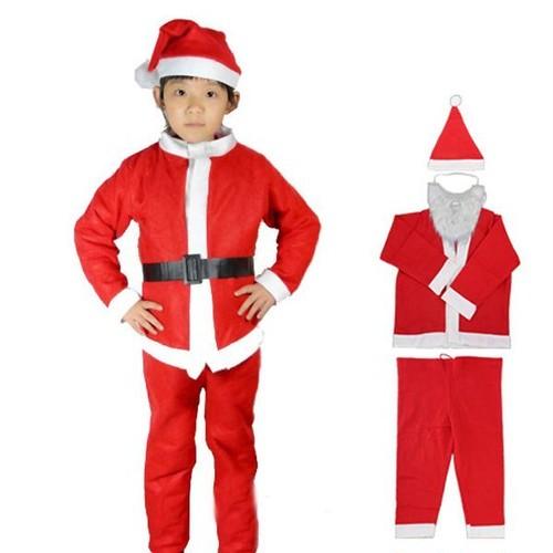 予約 コスプレ服 キッズサイズ クリスマス サンタ衣装 秋 冬 子供 こども 子ども 男の子 男児 ハロウィン イベント コスチューム 仮装 パーティー 小学生 ch036