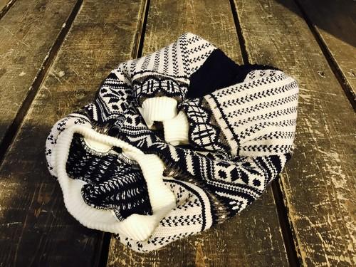 vintage!  knit  French Bulldog L