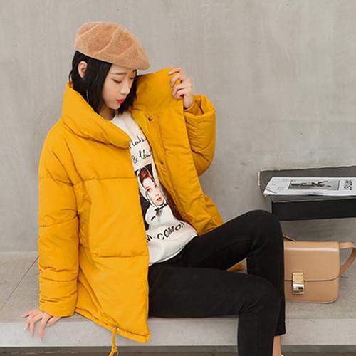 【アウター】ソフト長袖韓国風ロングフード付き厚い保温合わせやすいダウンコート