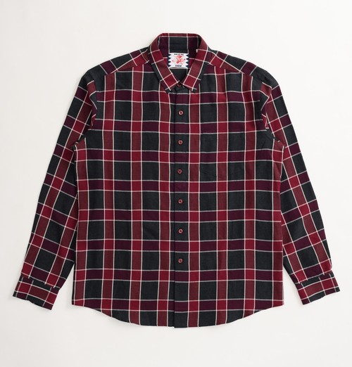 PULL CHECK SHIRTS (RED)