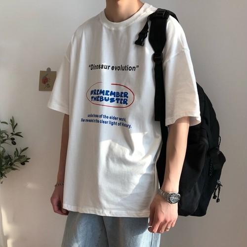 レタリングプリントTシャツ BL5943
