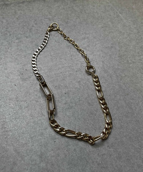 Blend chain necklace