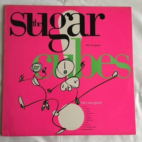 【LP・米盤】The Sugarcubes / Life's Too Good