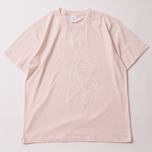 Logo Tee / Designed by Tomoo Gokita / PINK