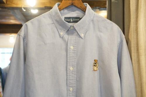 """Ralph Lauren oxford B.D. Shirt """"POLO BEAR"""""""