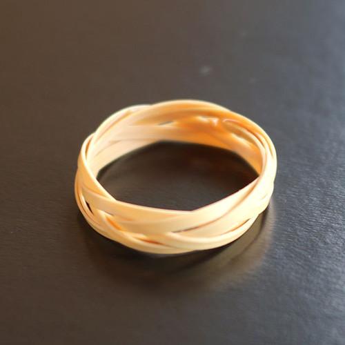 開運 竹の指輪
