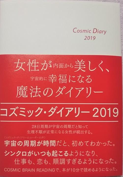 クリスマス価格25日まで!!コズミック・ダイアリー2019(赤い宇宙の月の年バージョン)