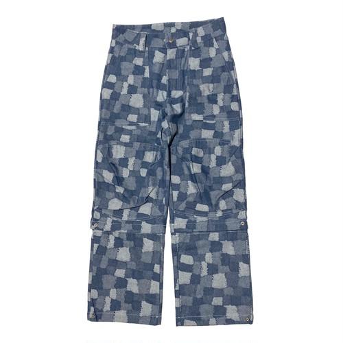 ILL IT -  2WAY DENIM PANTS (BLUE)