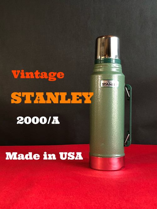 【2000/A】 STANLEY スタンレー 真空ボトル ハンマートーングリーン アメリカ製    1リットル