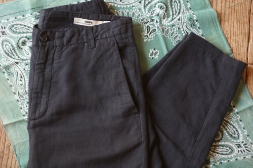 HOPE linen cotton saruel Pants