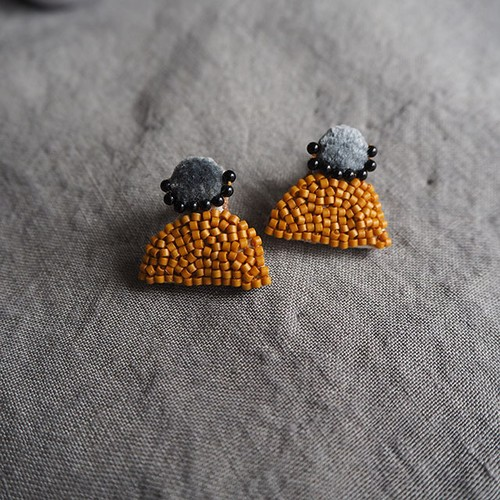 Marigold Bi-color Earrings