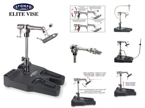 【 STONFO 】 ELITE VISE  article serial 653 + T6 Aluminum Tying Tool Holder