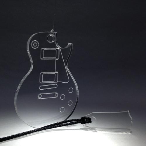 ギターチャーム     『レス・ポール』タイプ  ミニヘッド付