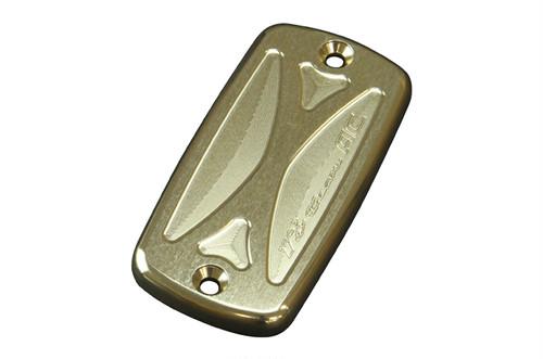 マスターシリンダーキャップ(ホンダ車用) アールズ・ギアロゴタイプ ゴールド[AC00-004H-3]