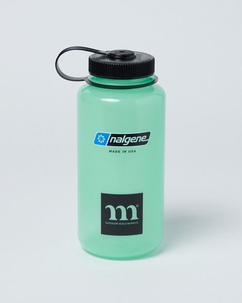 "muraco ムラコ ""m"" NALGENE TRITAN 1.0L GLOW ナルゲン ボトル"